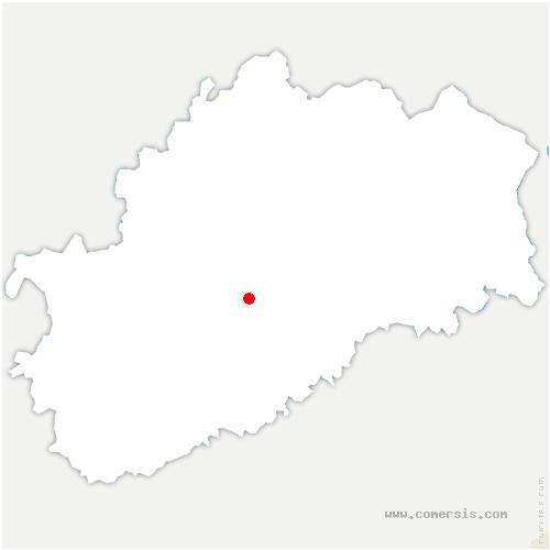 carte de localisation de Raze