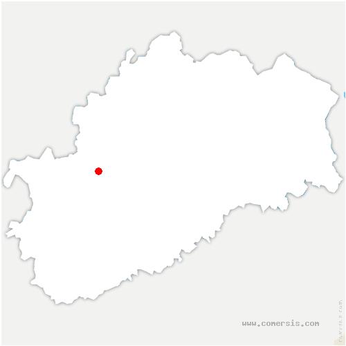 carte de localisation de Renaucourt