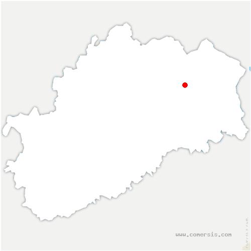 carte de localisation de Rignovelle