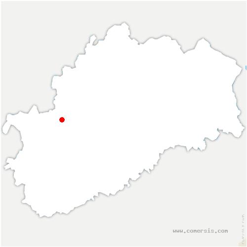 carte de localisation de Roche-et-Raucourt