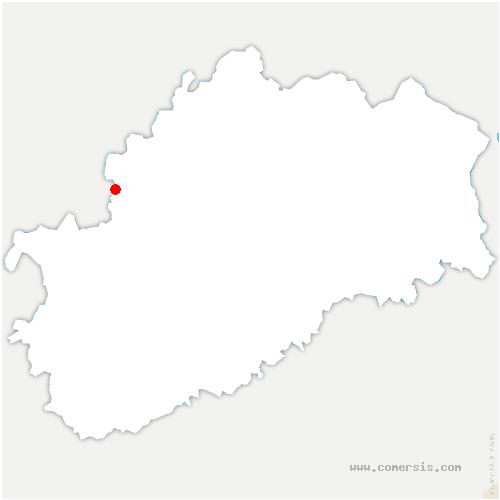 carte de localisation de Rochelle
