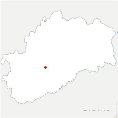 carte de localisation de Romaine