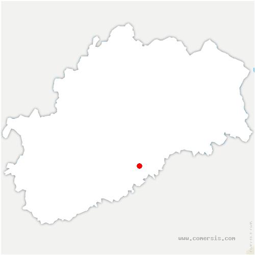 carte de localisation de Ruhans