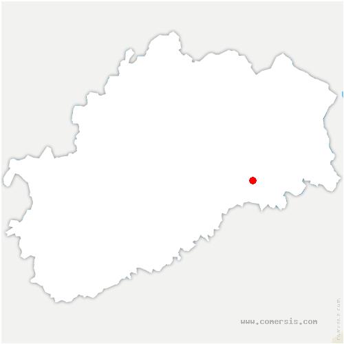 carte de localisation de Saint-Sulpice