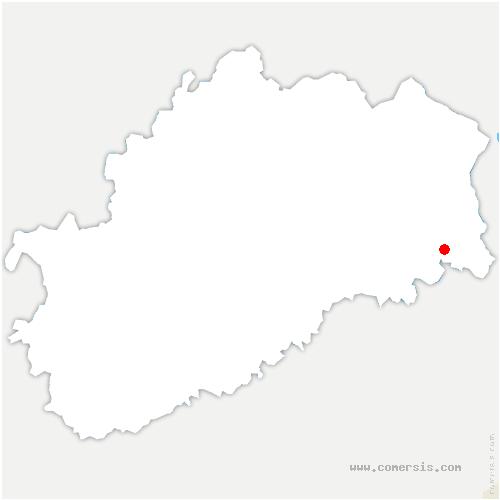 carte de localisation de Saulnot