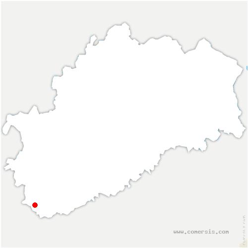carte de localisation de Sauvigney-lès-Pesmes