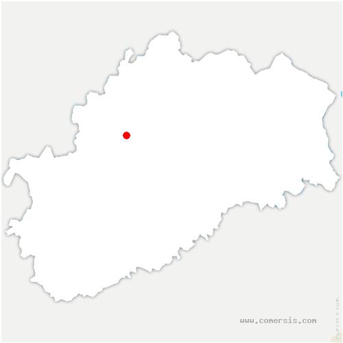 carte de localisation de Semmadon
