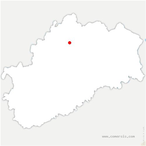 carte de localisation de Senoncourt
