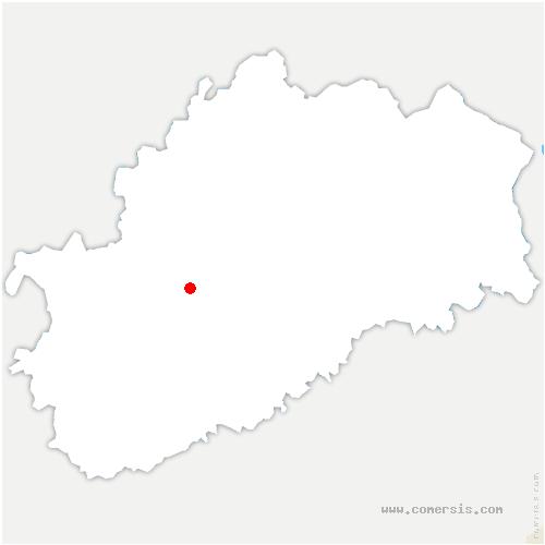 carte de localisation de Soing-Cubry-Charentenay