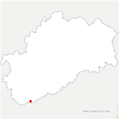 carte de localisation de Sornay