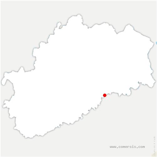 carte de localisation de Thieffrans