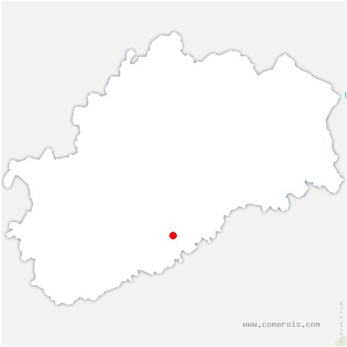 carte de localisation de Traitiéfontaine
