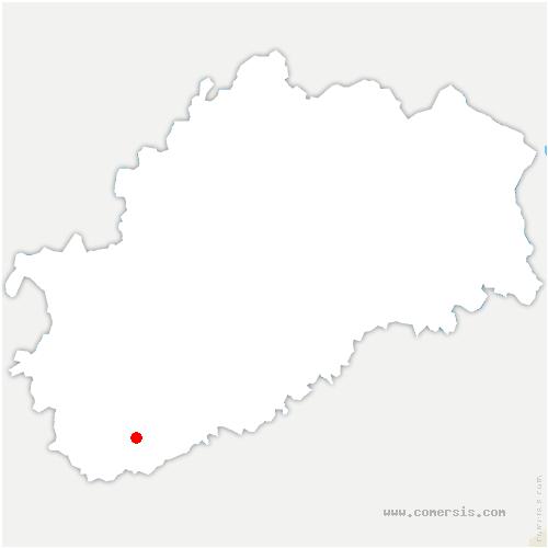 carte de localisation de Tromarey