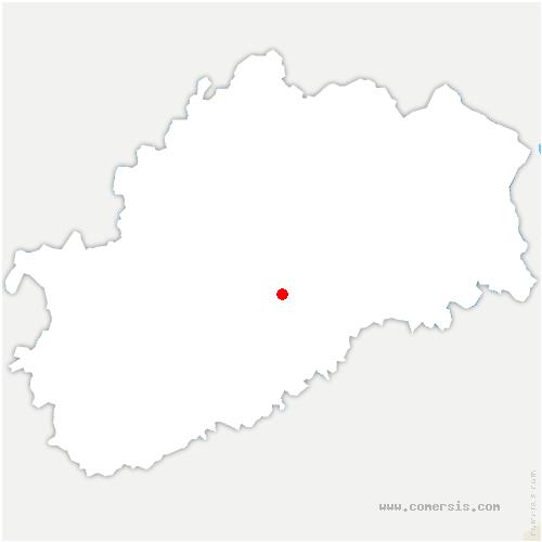 carte de localisation de Vallerois-Lorioz