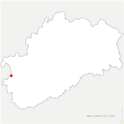 carte de localisation de Vars