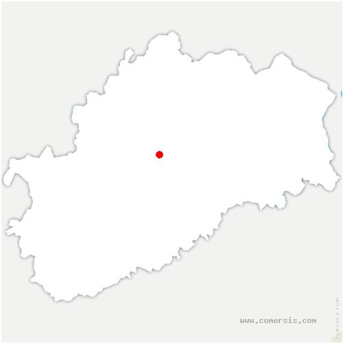 carte de localisation de Vauchoux