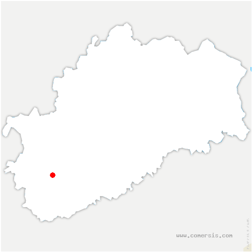 carte de localisation de Velesmes-Échevanne