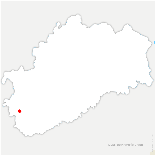 carte de localisation de Velet