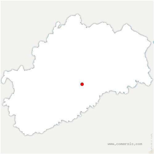 carte de localisation de Vellefaux