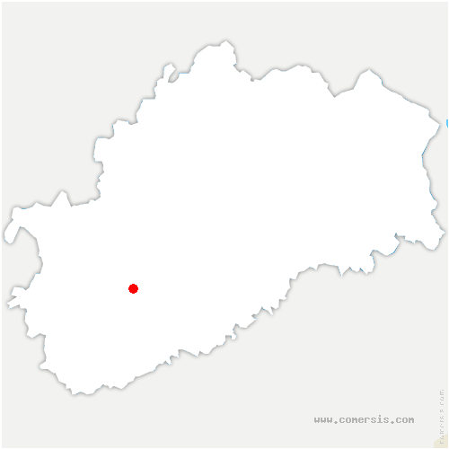 carte de localisation de Vellemoz