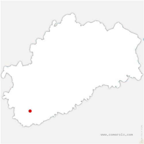 carte de localisation de Venère