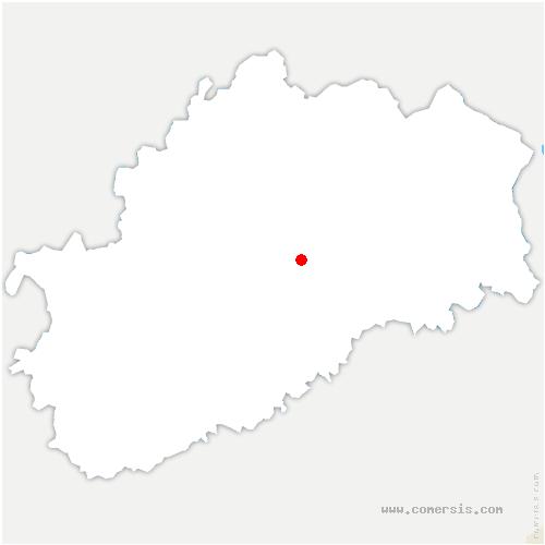 carte de localisation de Vesoul