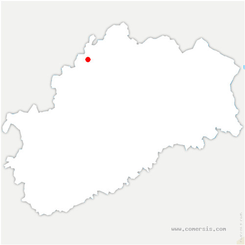 carte de localisation de Villars-le-Pautel