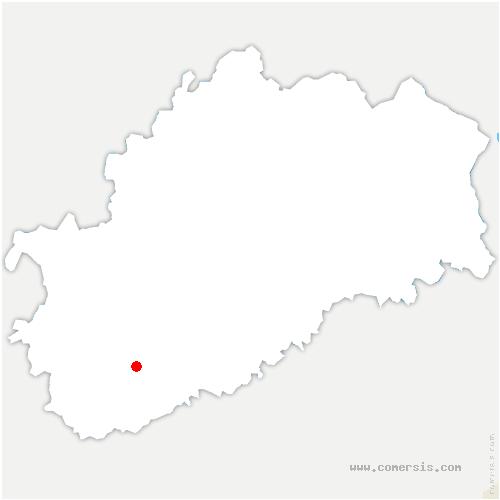 carte de localisation de Villefrancon