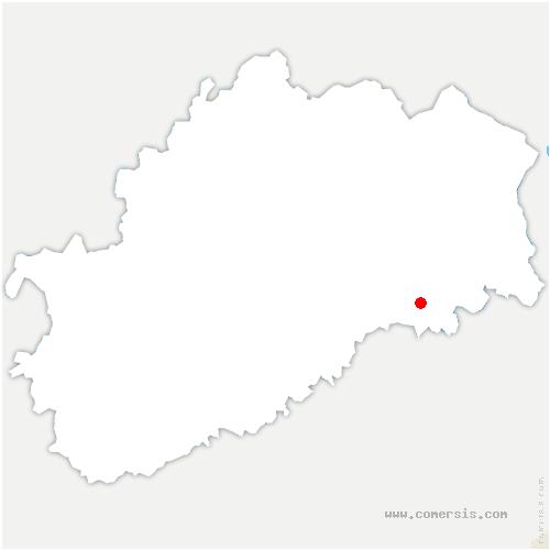 carte de localisation de Villers-la-Ville
