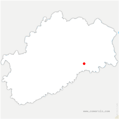carte de localisation de Villersexel