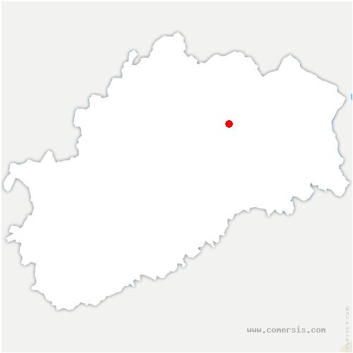 carte de localisation de Visoncourt