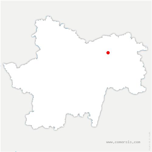 carte de localisation de Bey