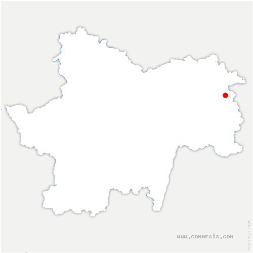 carte de localisation de Bosjean