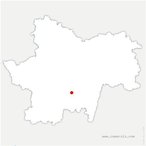 carte de localisation de Buffières