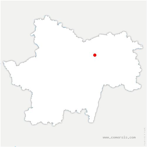 carte de localisation de Chalon-sur-Saône