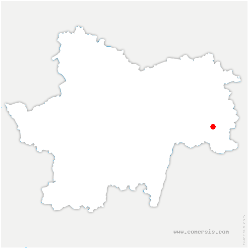 carte de localisation de Chapelle-Naude