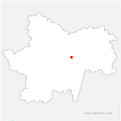 carte de localisation de Chenôves