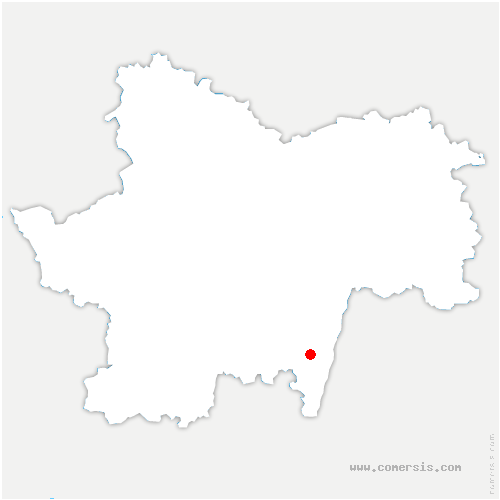 carte de localisation de Chevagny-les-Chevrières