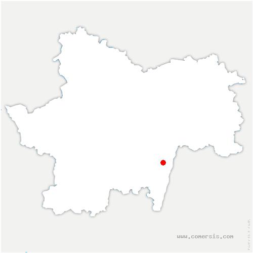 carte de localisation de Clessé