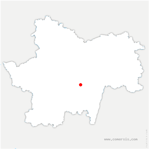 carte de localisation de Cortevaix