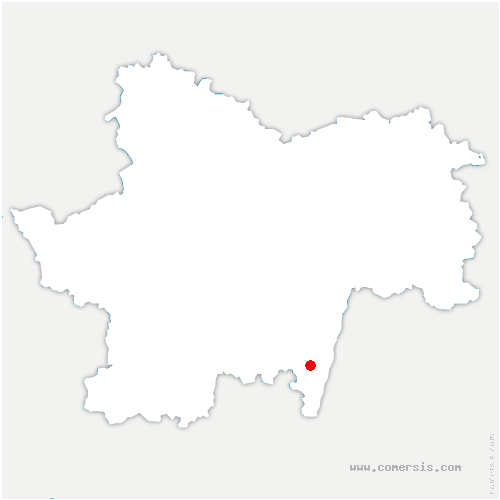 carte de localisation de Davayé