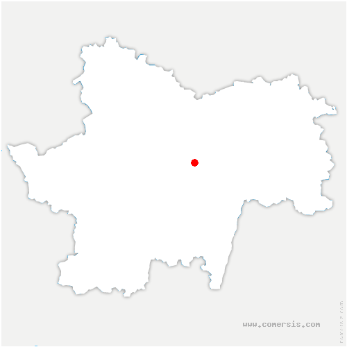 carte de localisation de Fley