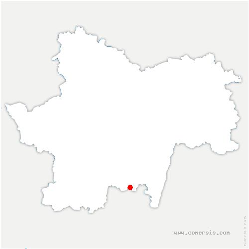 carte de localisation de Germolles-sur-Grosne
