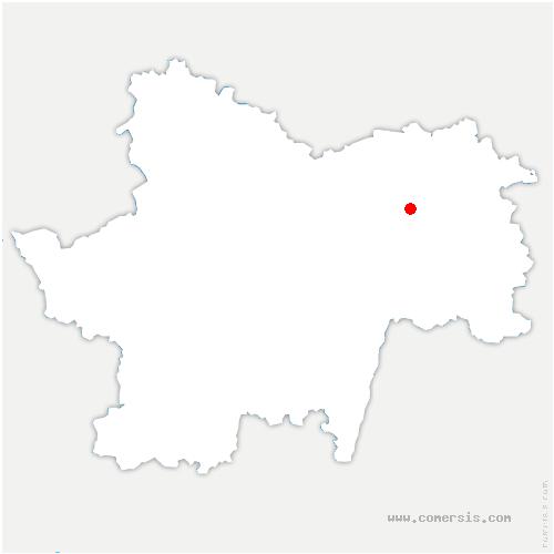 carte de localisation de Guerfand