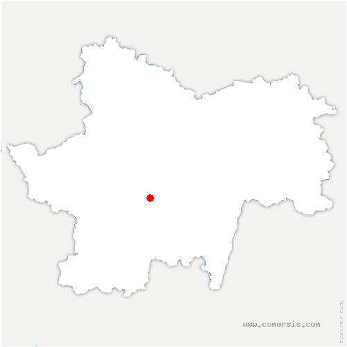 carte de localisation de Guiche