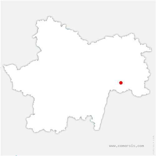 carte de localisation de Jouvençon