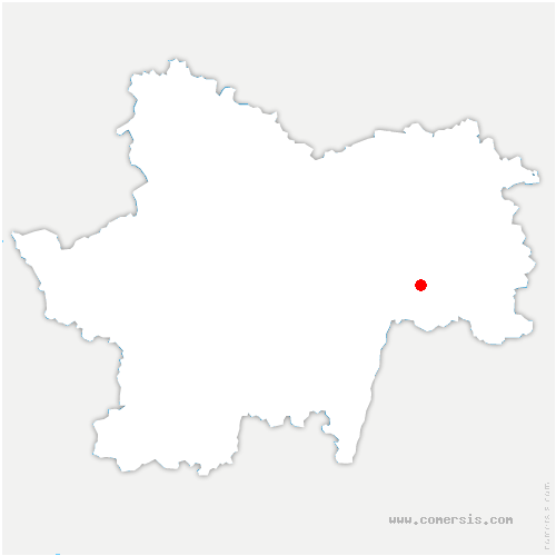 carte de localisation de Loisy