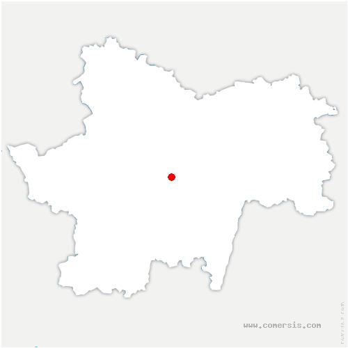 carte de localisation de Mary