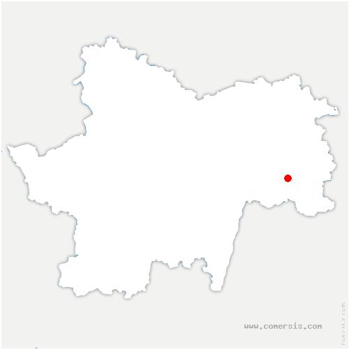 carte de localisation de Ménetreuil