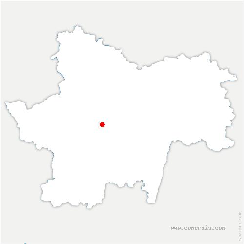 carte de localisation de Pouilloux